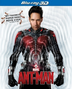 Ant-Man 3D Blu-ray Single Disc