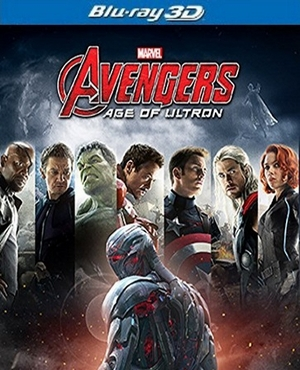 Avengers: Age Of Ultron Blu-ray 3D Single Disc (USED)