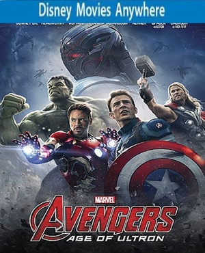 Avengers: Age of Ultron HD DMA Disney Movies Anywhere Code, Vudu or iTUNES