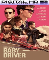 Baby Driver HD Ultraviolet UV Code