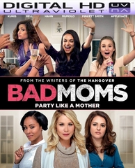 Bad Moms HD Digital Ultraviolet UV Code