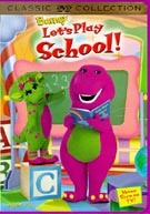 Barney Lets Play School DVD