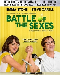 Battle Of The Sexes HD UV or iTunes Code