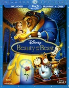 Beauty And The Beast Diamond Edition Blu-ray + DVD (USED)