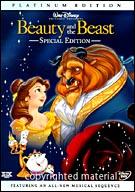Beauty And The Beast Platinum Edition (USED)