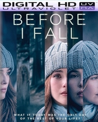 Before I Fall HD Digital Ultraviolet UV Code
