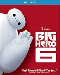 Big Hero 6 Blu-ray Single Disc