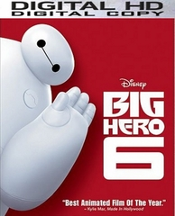 Big Hero 6 HD Digital Copy Code (VUDU ONLY)
