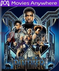Black Panther HD UV or iTunes Code