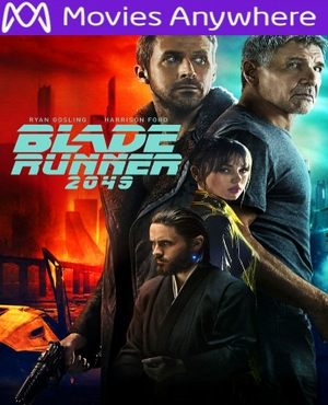 Blade Runner 2049 HD UV or iTunes Code