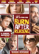 Burn After Reading DVD Movie