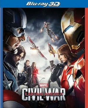 Captain America: Civil War Blu-ray 3D (USED)