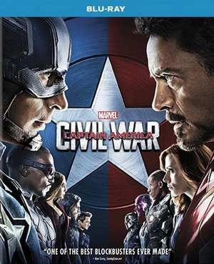 Captain America: Civil War Blu-ray (USED)