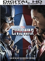 Captain America Civil War HD Ultraviolet or iTunes Code  (FULL CODE)
