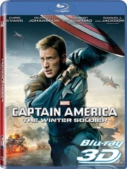 Captain America The Winter Soldier 3D Blu-ray Only (USED)
