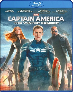 Captain America The Winter Soldier Blu-ray (USED)