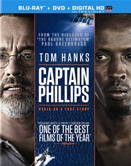 Captain Phillips (Blu-ray + DVD + UltraViolet)