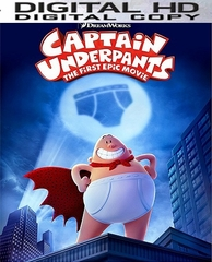 Captain Underpants HD Ultraviolet UV or iTunes Code
