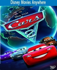 Cars 2 HD DMA Disney Movies Anywhere Code