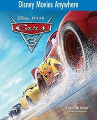 Cars 3 HD Ultraviolet, DMA or iTunes Code (FULL CODE)