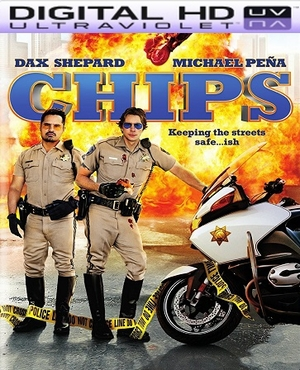 CHiPs HD Digital Ultraviolet UV Code (PRE-ORDER WILL EMAIL ON OR BEFORE 6-27-17 AT NIGHT)