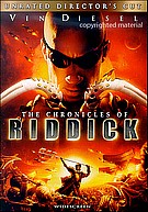 Chronicles Of Riddick Unrated Directors Cut DVD (USED)