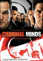 Criminal Minds The Second Season 2 DVD