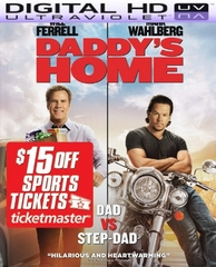 Daddy's Home HD Digital Ultraviolet UV Code