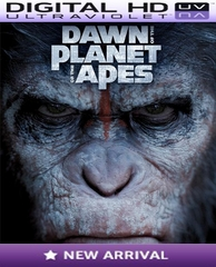 Dawn of The Planet of The Apes HD Digital Ultraviolet UV Code