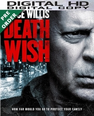 Death Wish 2018 HD UV Code     (PRE-ORDER WILL EMAIL ON OR BEFORE 6-5-18 AT NIGHT)