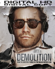 Demolition HD Digital Ultraviolet UV Code ( VUDU - Flixster - Google Play or iTUNES )
