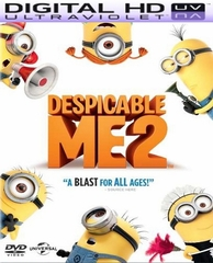 Despicable Me 2 Digital HD Ultraviolet UV Code