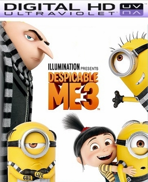 Despicable Me 3 HD Ultraviolet UV Codes FLASH SALE      (PRE-ORDER WILL EMAIL ON OR BEFORE 12-5-17 AT NIGHT)