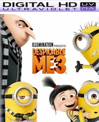 Despicable Me 3 HD Ultraviolet UV Codes  (FLASH SALE WILL END WITHOUT NOTICE)