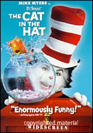 Dr Seuss The Cat In The Hat DVD