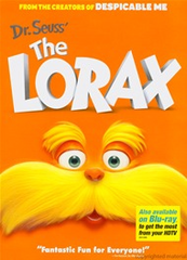 Dr Seuss The Lorax DVD Movie