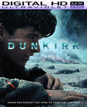 Dunkirk HD Ultraviolet UV or iTunes Code VIA Movies Anywhere      (PRE-ORDER WILL EMAIL ON OR BEFORE 12-19-17 AT NIGHT)