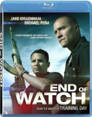 End of Watch Blu-ray Movie Rental (USED)