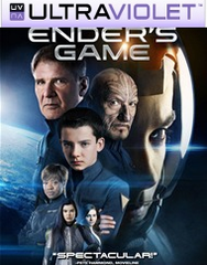 Ender's Game SD UltraViolet UV Code
