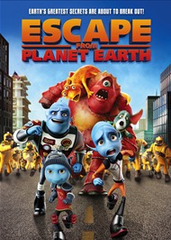 Escape From Planet Earth DVD Movie