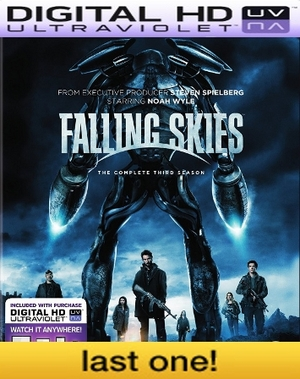 Falling Skies Season 3 HD Digital Ultraviolet UV Code