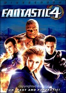 Fantastic Four DVD Movie