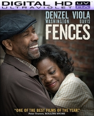 Fences HD Digital Ultraviolet UV Code