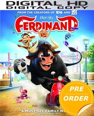 Ferdinand HD Ultraviolet or iTunes Code (PRE-ORDER WILL EMAIL ON OR BEFORE 3-13-18 AT NIGHT)