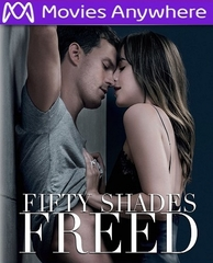 Fifty Shades Freed HD UV or iTunes Code