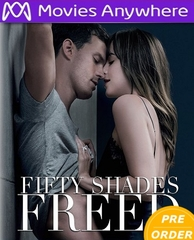Fifty Shades Freed HD UV or iTunes Code     (PRE-ORDER WILL EMAIL ON OR BEFORE 5-8-18 AT NIGHT)