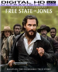 Free State of Jones HD Digital Ultraviolet UV Code