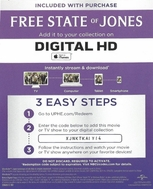 Free State of Jones HD iTunes Code