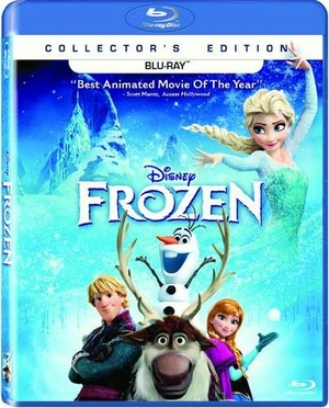 Frozen Blu-ray Movie (USED)