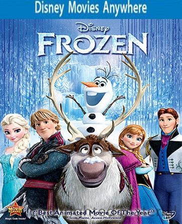 Buy Frozen DMA Disney Movies Anywhere Code / iTunes For sale Cheap